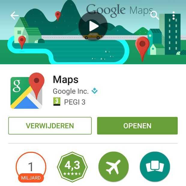 Google Maps waarschuwt nu of winkel gesloten is als je aankomt