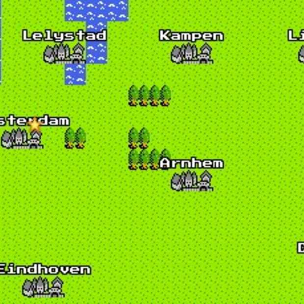 Google Maps voor de NES en Gameboy