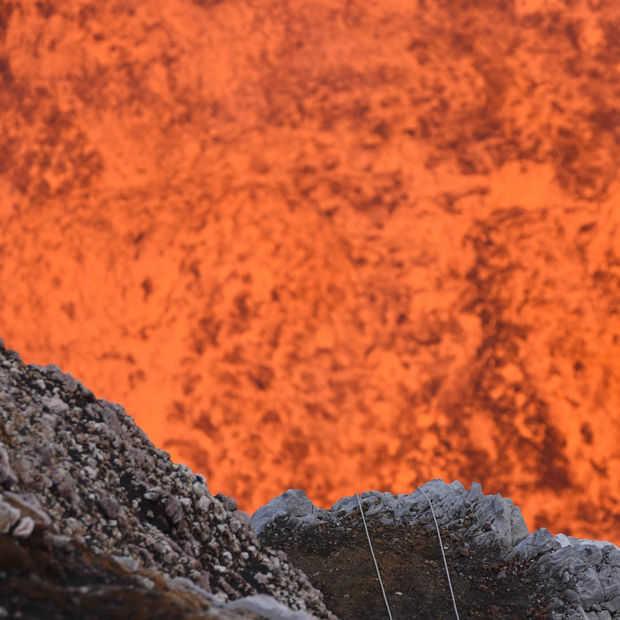 Ga met Google Street View mee een actieve vulkaan in