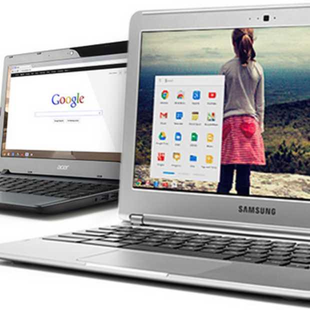 Google werkt aan touchscreen Chromebooks; release dit jaar