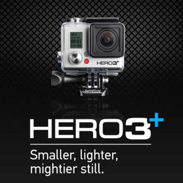 GoPro Hero3+ aangekondigd
