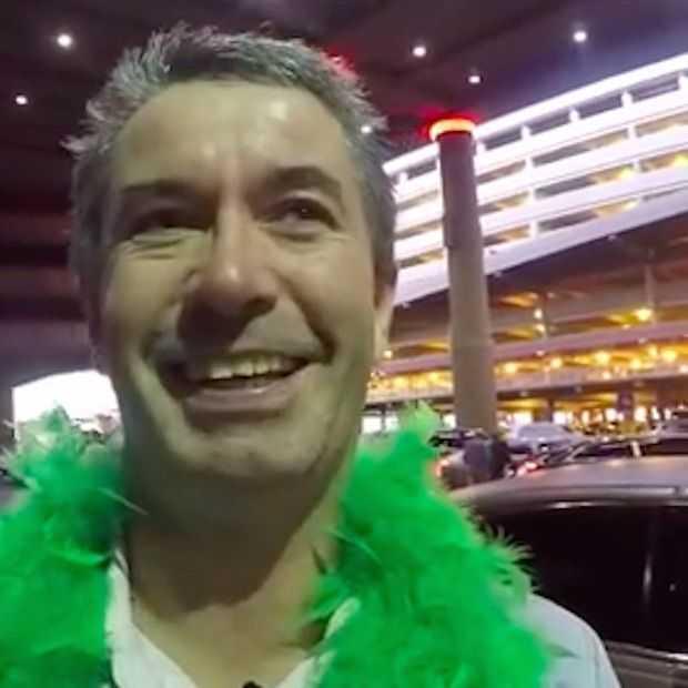 De man die een hele vakantie zichzelf filmde krijgt een herkansing!