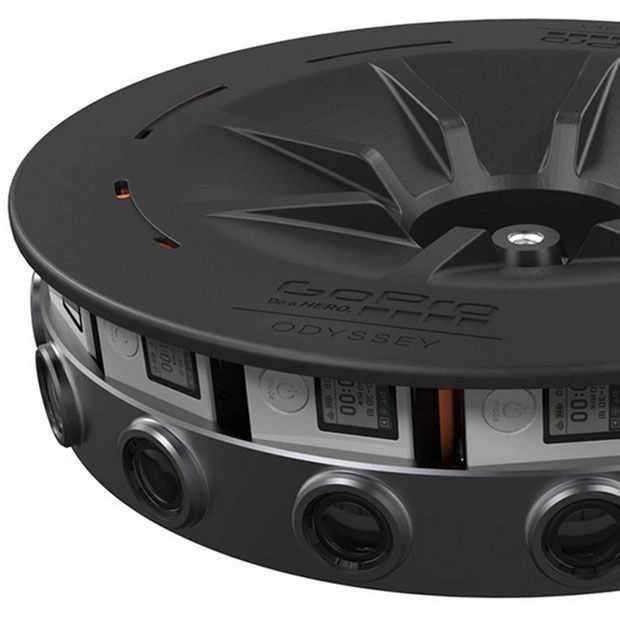 GoPro Odyssey gelanceerd voor het opnemen van VR beeld
