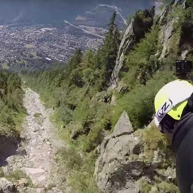 Must see: Wingsuit video Le Brévent