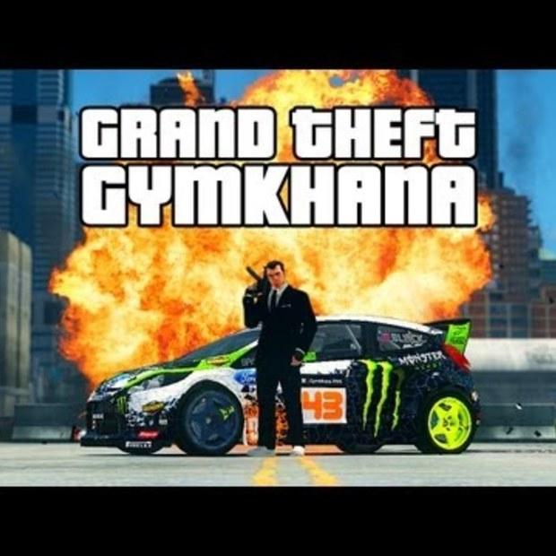 Grand Theft Gymkhana