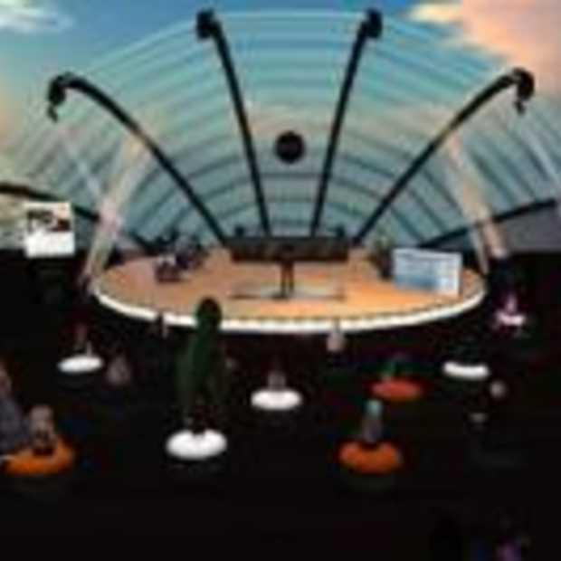 Gratis concert in ActiveWorlds