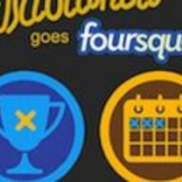 Gratis drankje voor inchecken met FourSquare