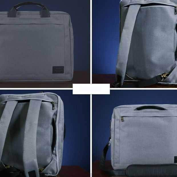 De Hackpack: één tas, vier stijlen