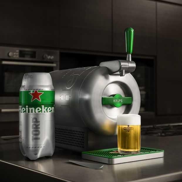 """Heineken lanceert nieuwe thuistap """"THE SUB"""""""