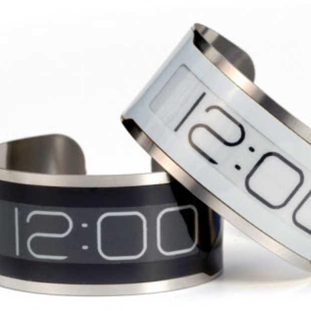 Het dunste horloge ter wereld: CST-01 E Ink