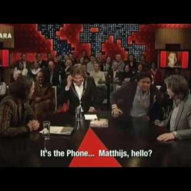 Hidden Phones, a guerrilla stunt