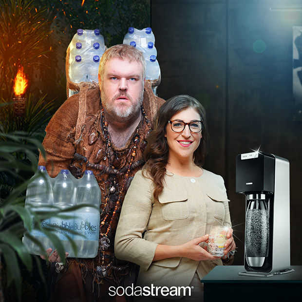 Game of Thrones meets Big Bang Theory in nieuwe campagne Sodastream