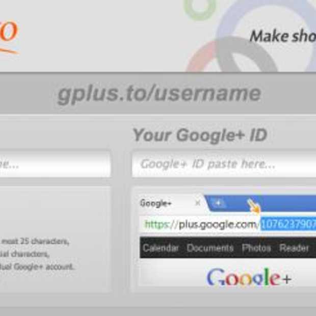 Hoe krijg je een eigen Google+ vanity URL?