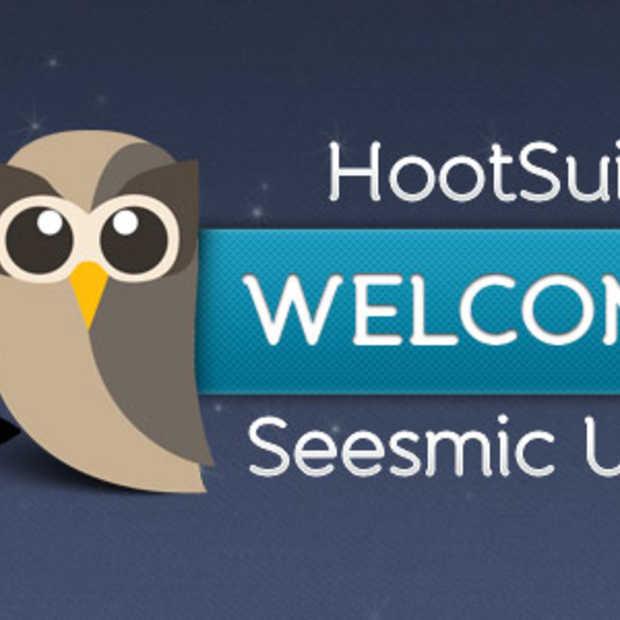 Hootsuite neemt Seesmic over