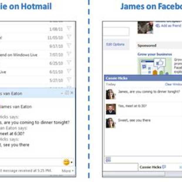 Hotmail's Facebook Chat feature nu overal beschikbaar