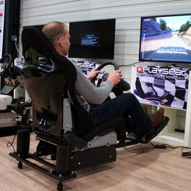Houd je vast, racen wordt echt met Playseat Motion