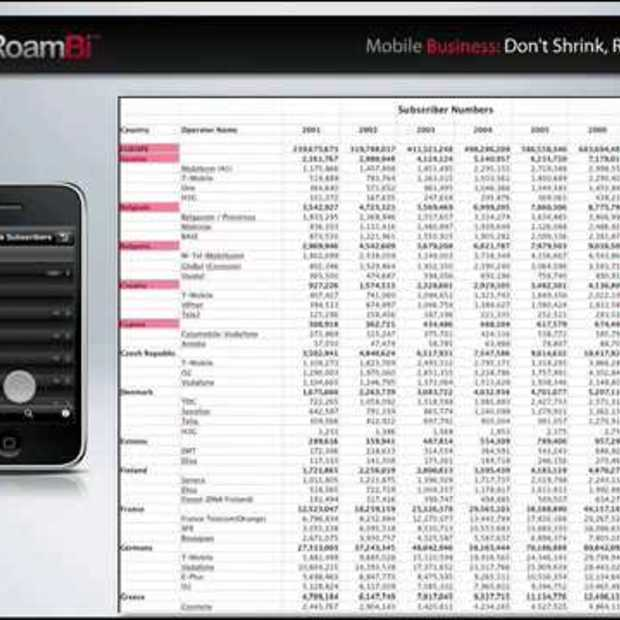 RoamBi : Excel sheets on your iPhone