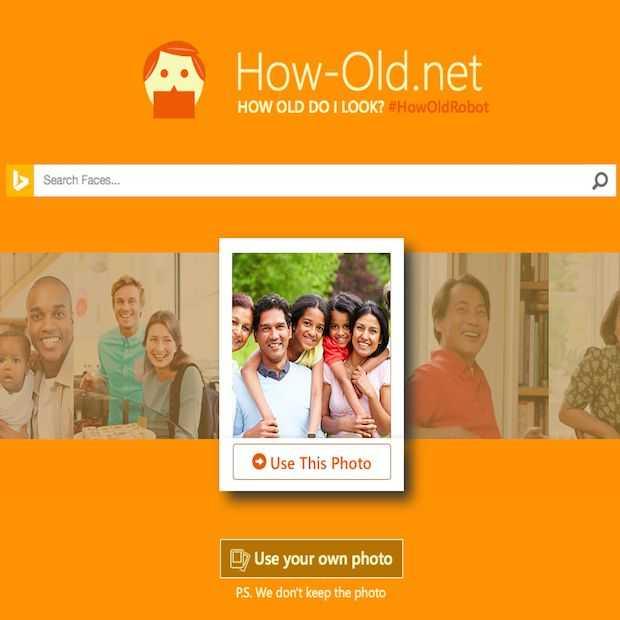 Nieuwe Microsoft tool How Old raad je leeftijd!