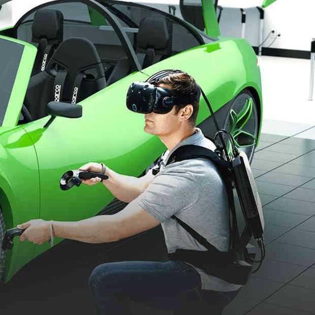 HP's nieuwe virtual reality rugzak is geen speelgoed