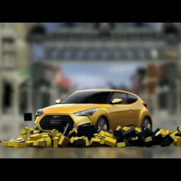 Hyundai : Let's play with Veloster Turbo on Asphalt 7 Heat.