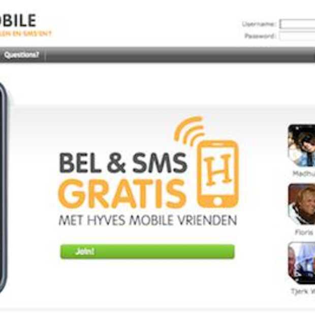 Hyves goes Mobile : Gratis bellen en SMS-en naar je vrienden