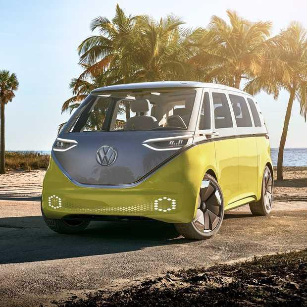 Volkswagen's elektrische I.D. Buzz is klaar in 2022