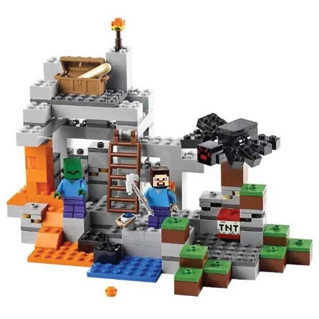 LEGO brengt eind dit jaar Minecraft-sets uit
