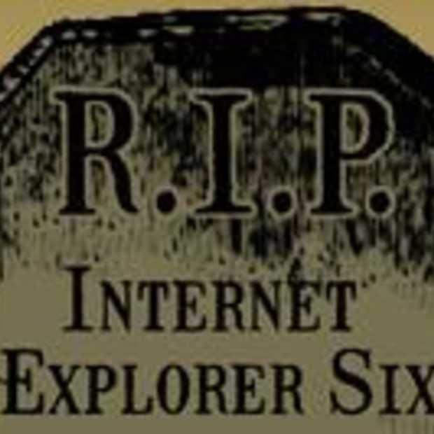 IE6 is niet meer