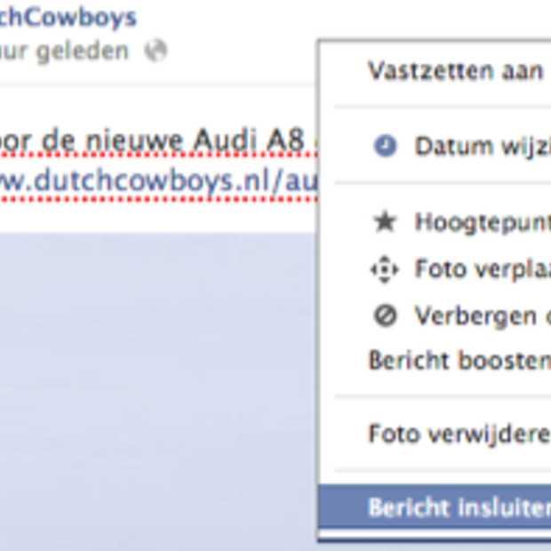 Iedereen kan nu een Facebook post embedden