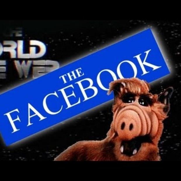 Facebook als het was bedacht in de jaren '90