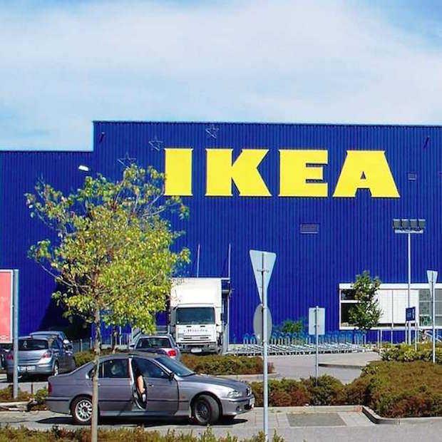 Kook je eigen maaltijd op een IKEA-showmodel