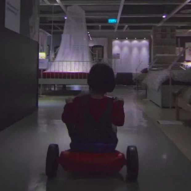 Het kon eigenlijk niet uitblijven, Ikea Halloween