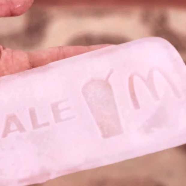 McDonald's Ice Coupon Machine is verfrissend lekker en origineel #imlovinit