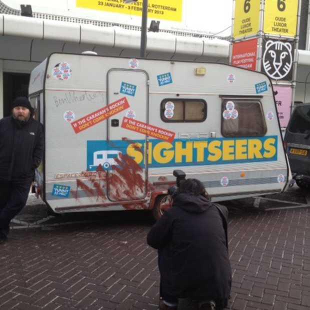 In de Friday Free Gift Lucky Bastard Show #FFGLBS maak je kans op een caravan uit de film Sightseers