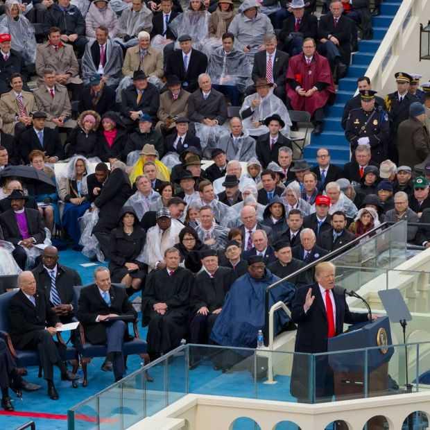 Hoeveel mensen waren bij de inauguratie van Trump? We kunnen zelf tellen!