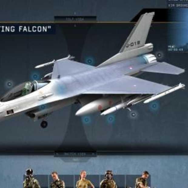 Indrukwekkende wervingssite Luchtmacht