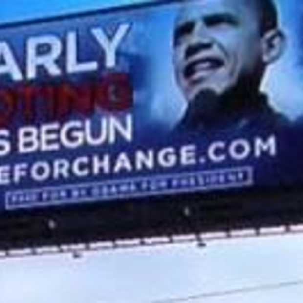 Ingame advertising van Obama