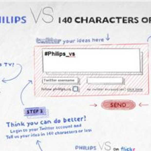 Innovatieve Twitter campagne Philips