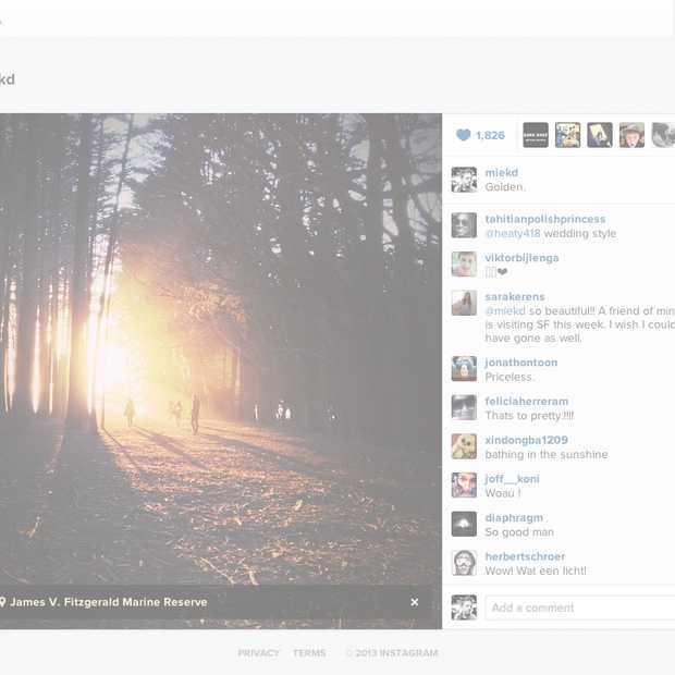 Instagram maakt foto's en video's insluitbaar