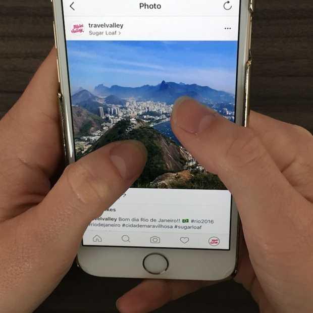 Je kunt nu inzoomen op foto's bij Instagram