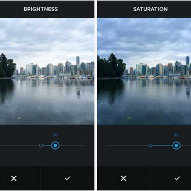 Instagram rolt nieuwe nieuwe fotobewerkingstools uit