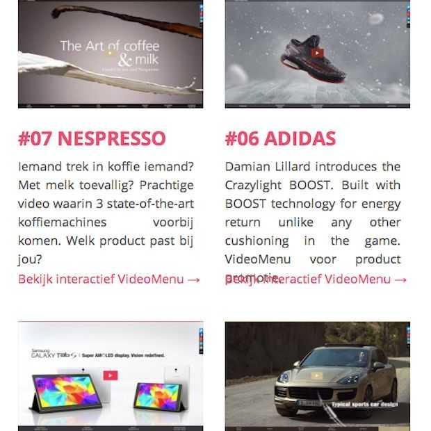 50i INTERACTiVE maakt deze hele maand iedere dag een interactieve video van een bekend merk