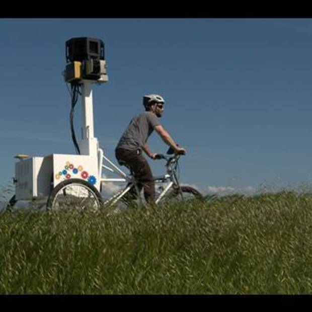 Google introduces Streetview trike