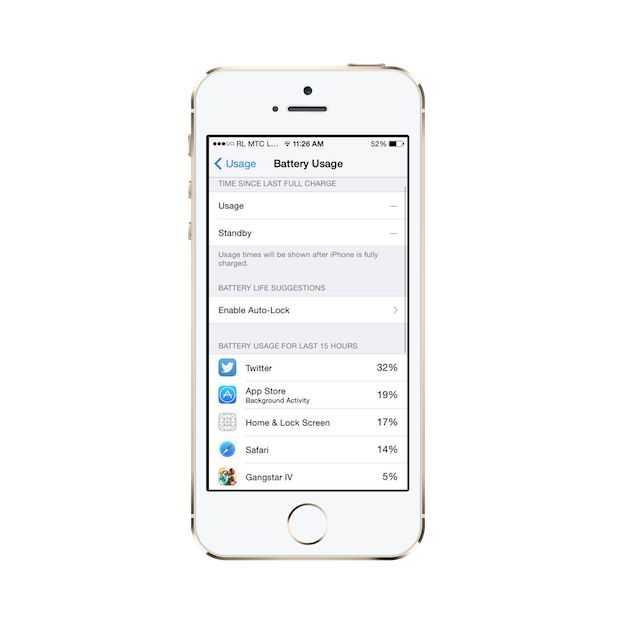 Zo spaar je batterij met iOS 8