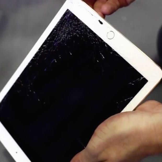 Grote tablets breekbaarder dan kleinere exemplaren