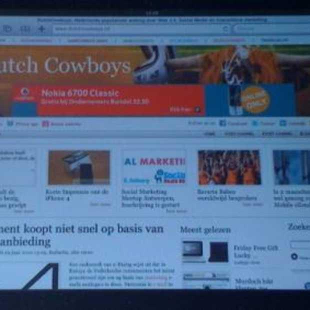 iPad-lancering in Nederland uitgesteld