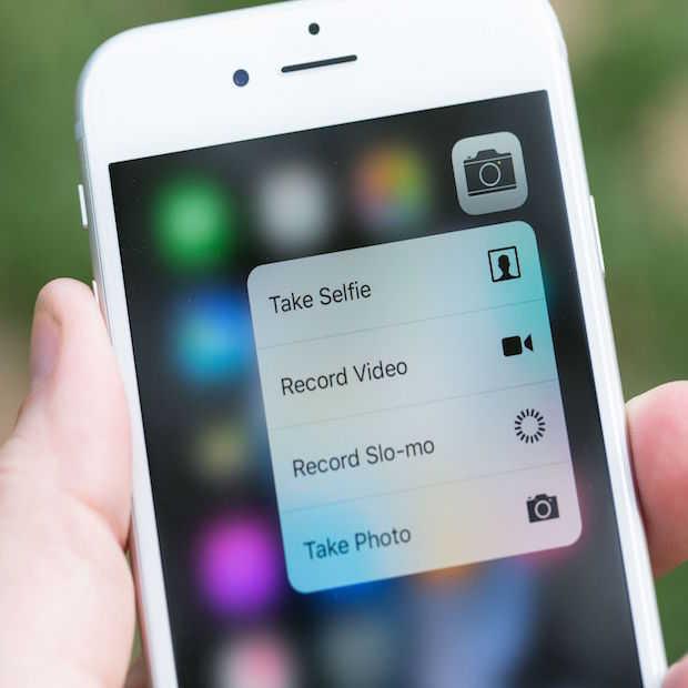 Dit kun je met Apple's nieuwe 3D Touch