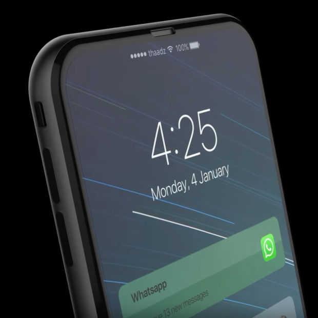 Dit is wel een heel mooi concept van de iPhone 8 (video)