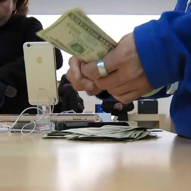 Bizar! Chinezen betalen duizenden dollars voor iPhone 6 op zwarte markt