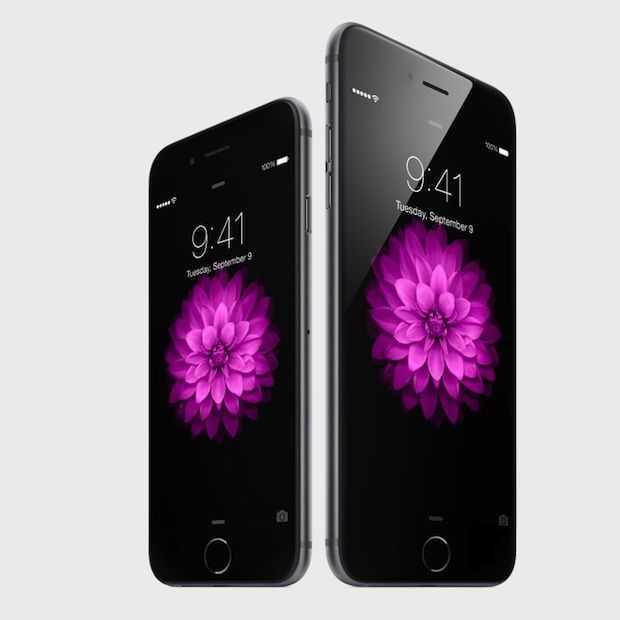 Apple haalt verkooprecord op eerste dag iPhone 6 & 6 Plus verkoop